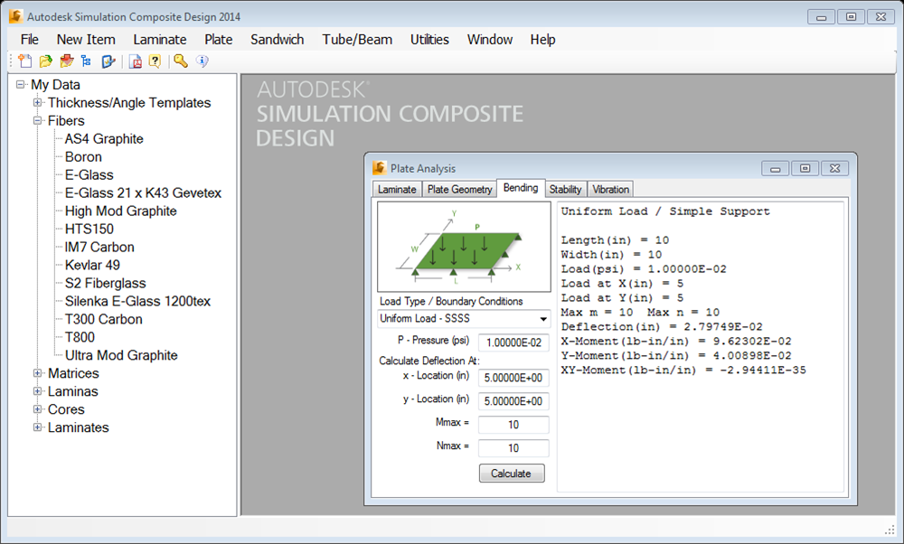 Autodesk Simulation Composite Analysis, ранее известный как Firehole Composites Helius:MCT