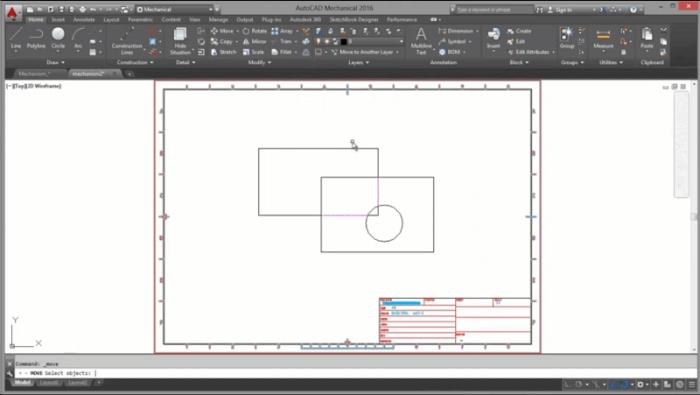 Как скрыть и показать линии в чертеже Autodesk Inventor САПР 77